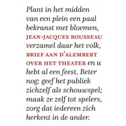 Brief aan d'Alembert over het theater